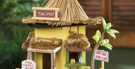 Tiki and Beachcombers Birdhouses