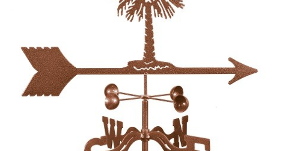 Palm Tree Weathervane