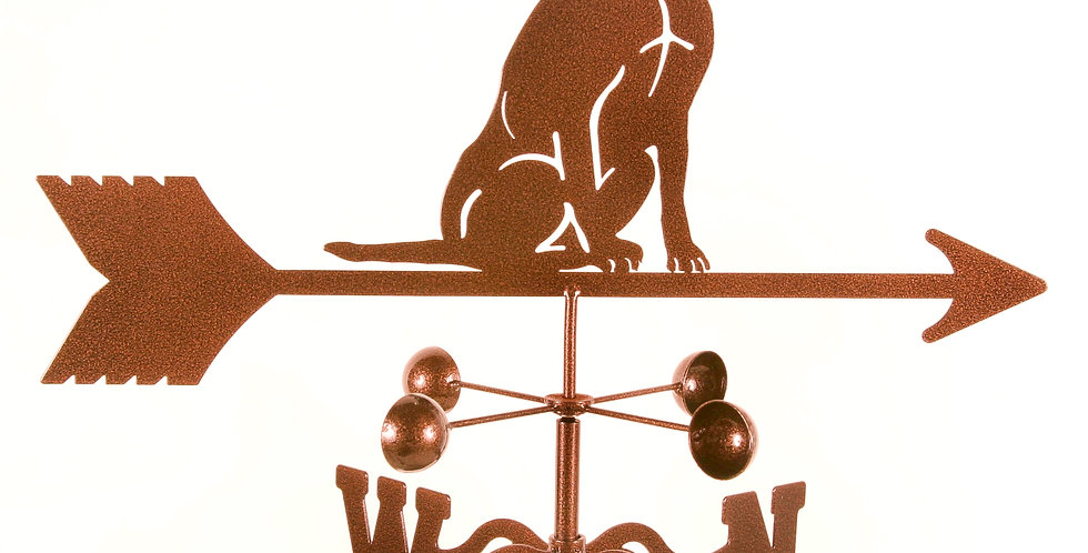 Labrador Sitting Weathervane