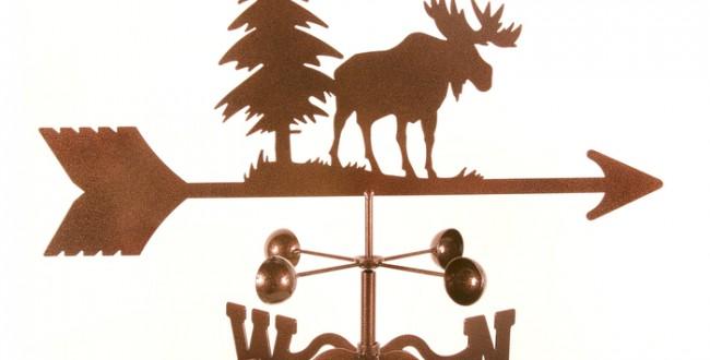 Moose Weathervane