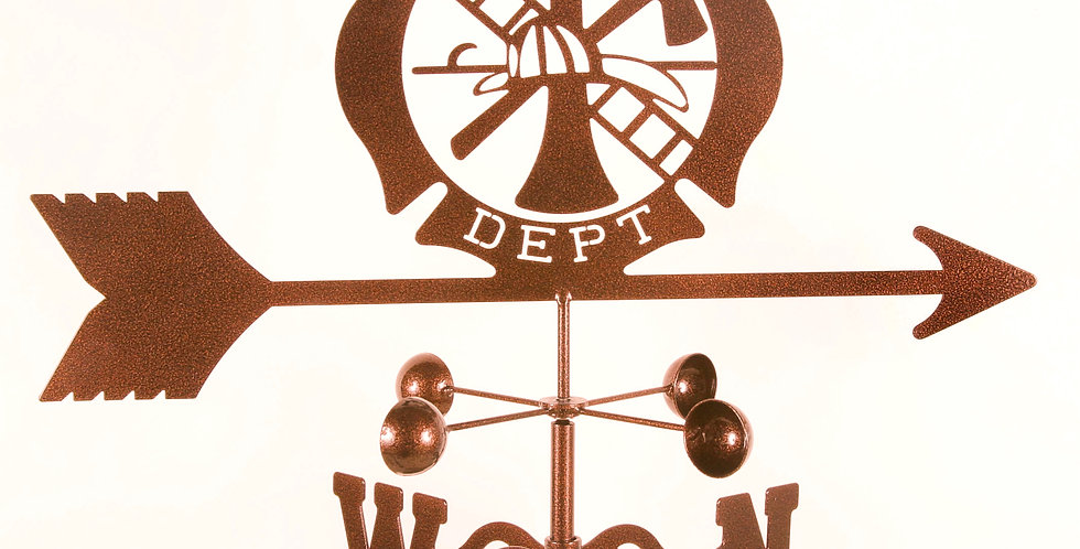 Fire Department Weathervane