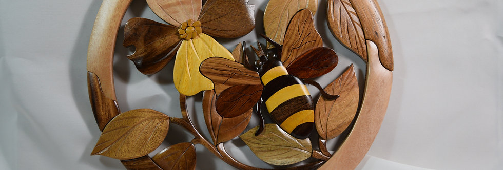Bee on Dogwood