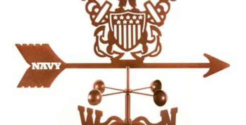 US Navy Weathervane