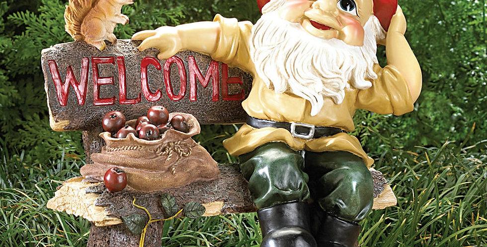 Garden Gnome Welcome