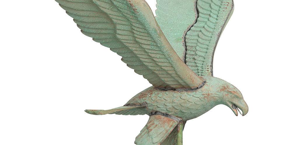 Copper Eagle Weathervane - Verdigris finish