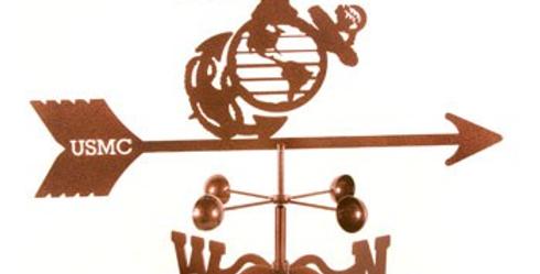 Marines Weathervane