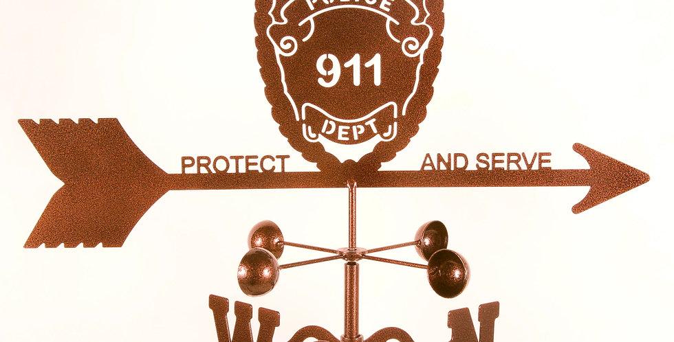 Police Weathervane