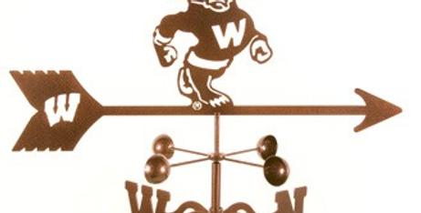 Bucky Badger Weathervane