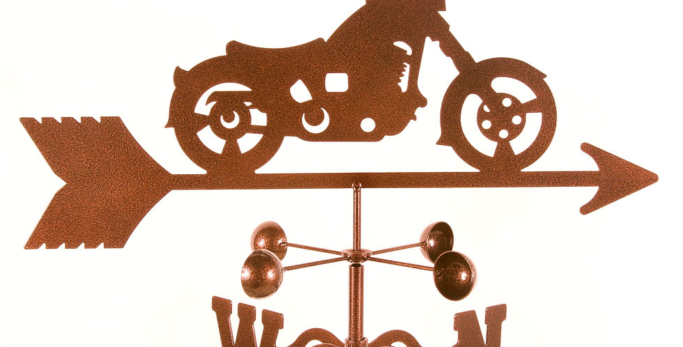 Motorcycle Classic Weathervane