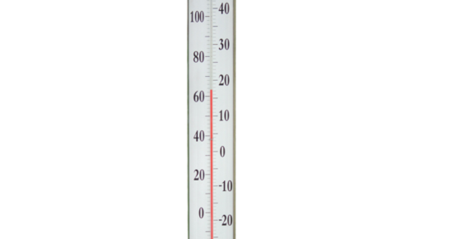 "Vermont Grande View 24""Thermometer (Living Finish Brass)"