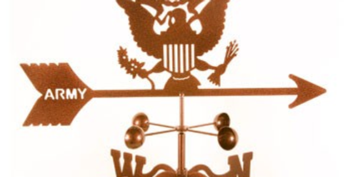 US Army Original Weathervane