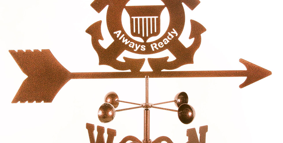 US Coast Guard Weathervane