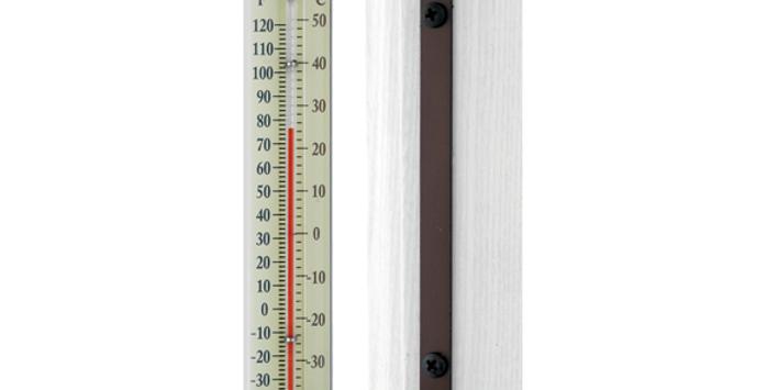 "Décor Indoor/Outdoor 7"" Thermometer (Bronze Patina)"