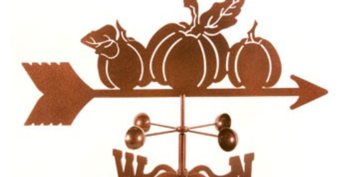 Pumpkins Weathervane
