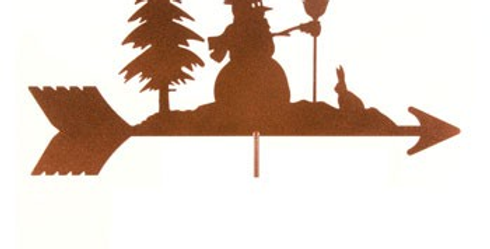 Snowman Weathervane Top Only