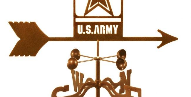 US Army (new) Weathervane