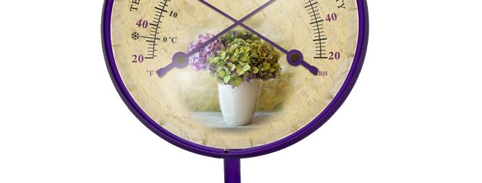 "Décor Convertible Small Comfortmeter (""Antique Hydrangea"" in Purple Amethyst)"