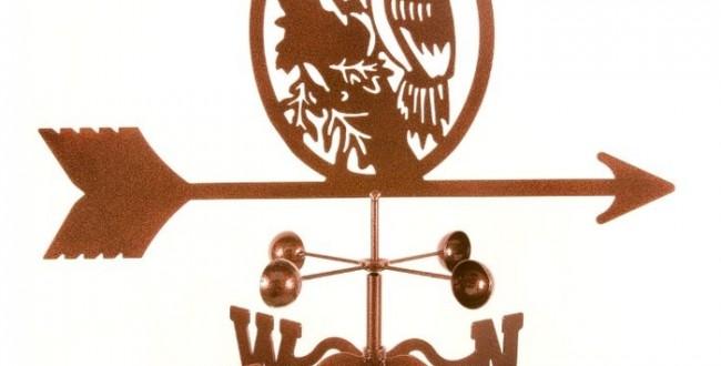 Woodpecker Weathervane