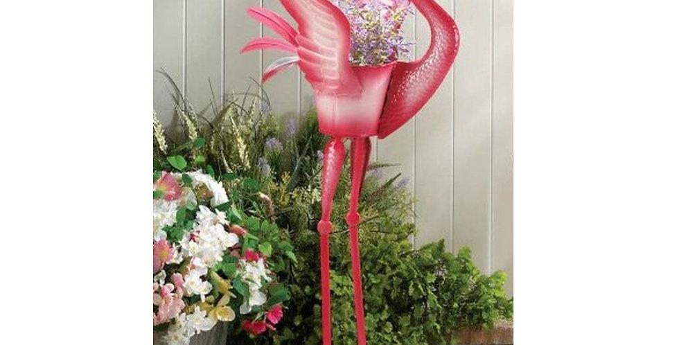 Flamingo Planter - Head Up