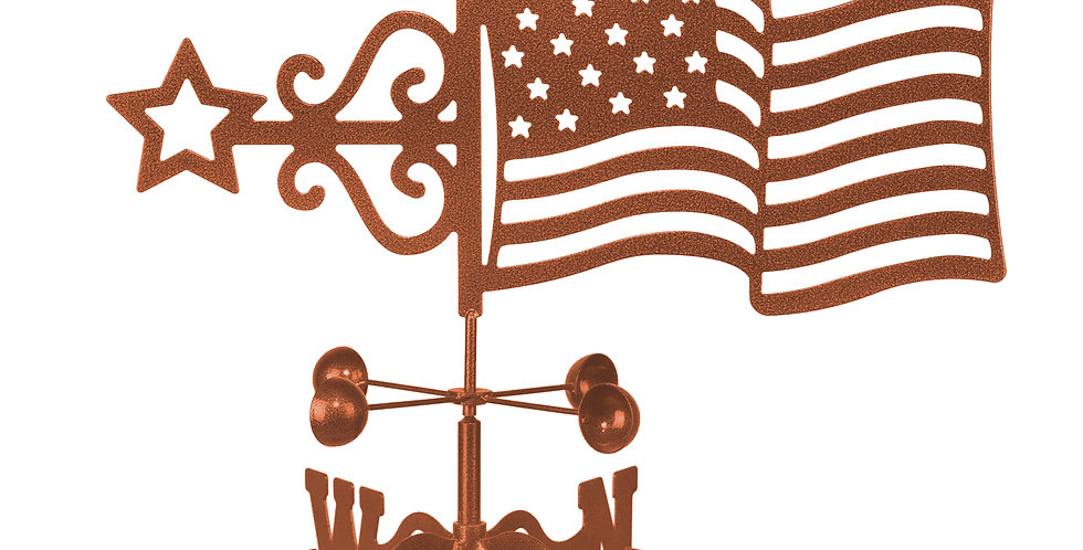 US Flag Weathervane