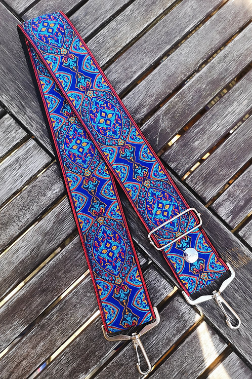 Peacock Handmade Guitar Bag Strap
