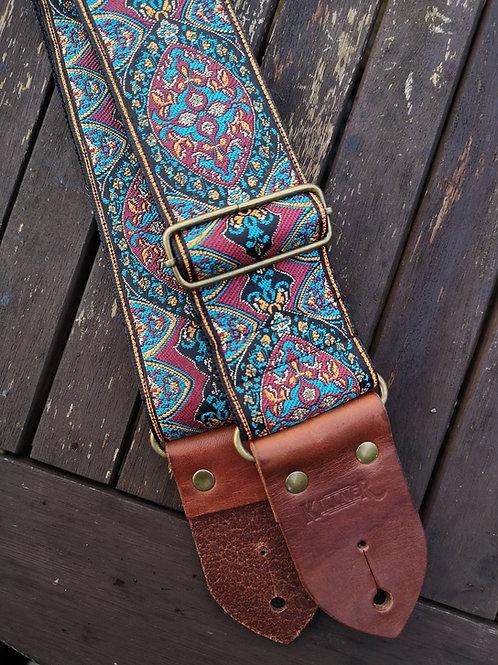 Indian Sunset Guitar Strap