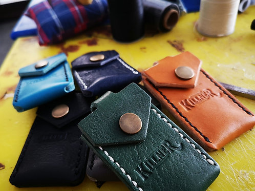 Leather Key Chain Pick Pouch