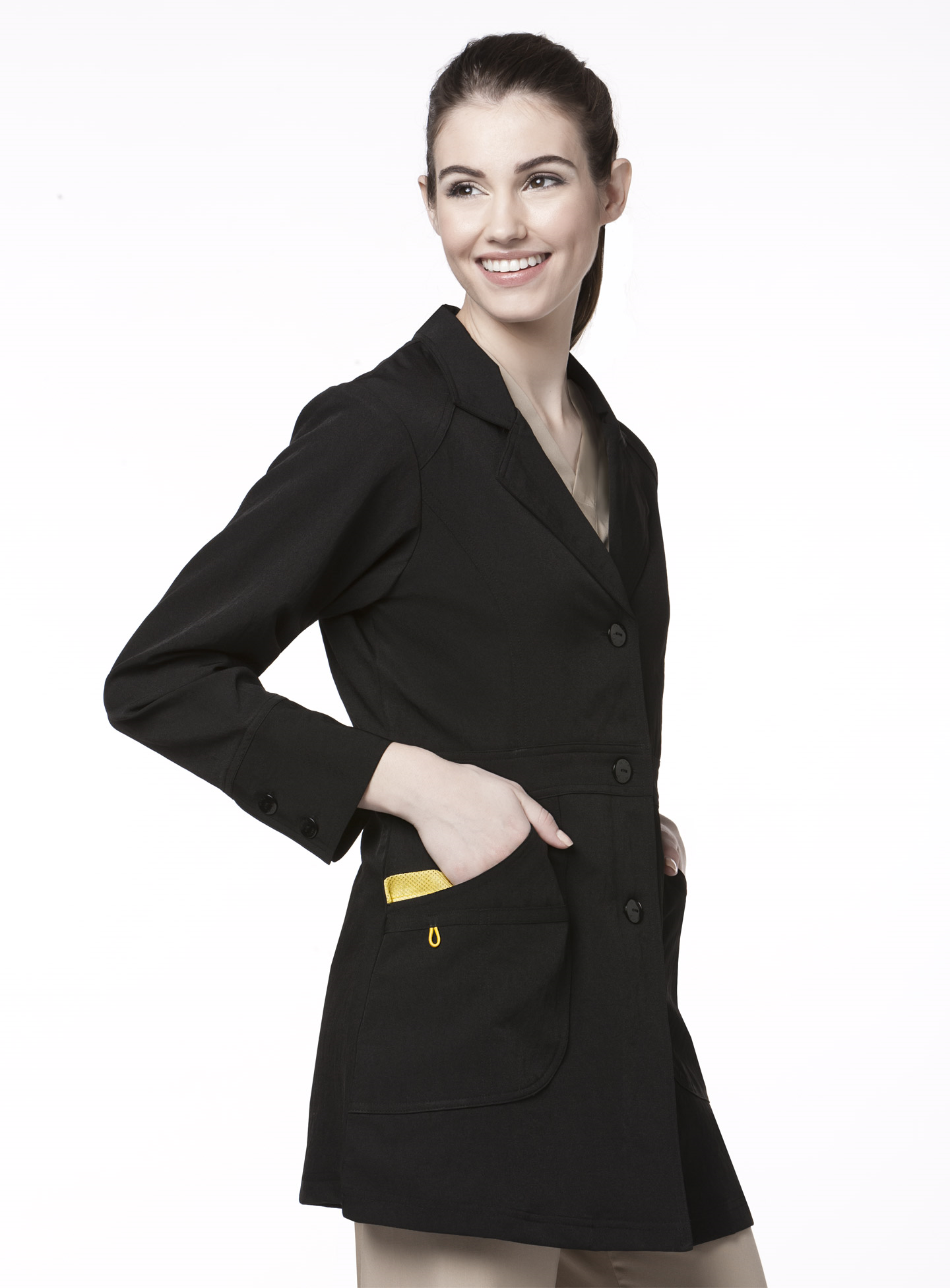 Wink LabCoat Black