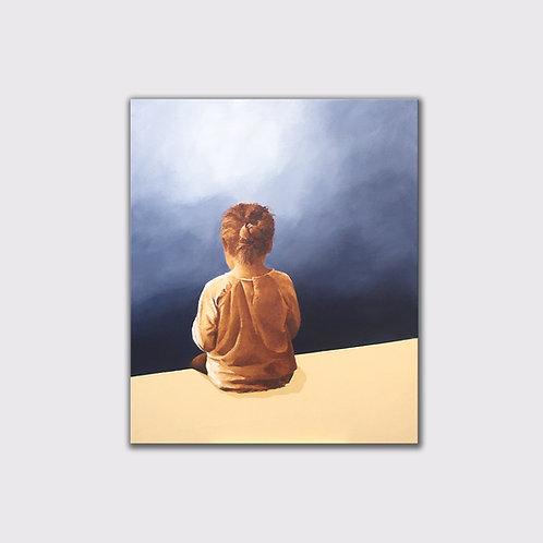 Vertige, 100 x 80 cm, Acrylique sur toile, 2020