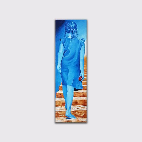 Ariane, 120 x 40 cm, Acrylique sur toile, 2019