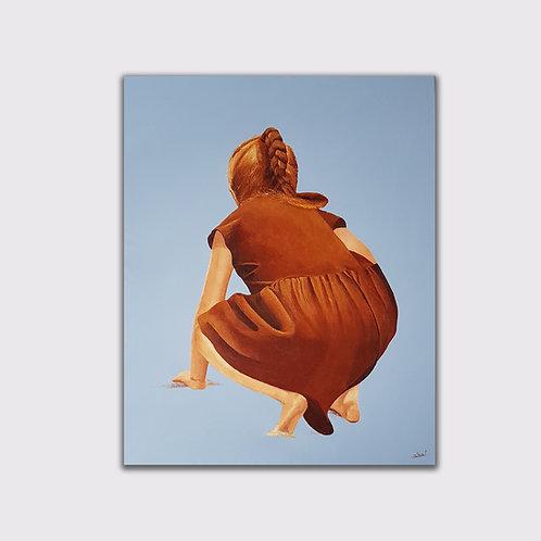 Printemps 1, 100 x 80 cm, Acrylique sur toile, 2019