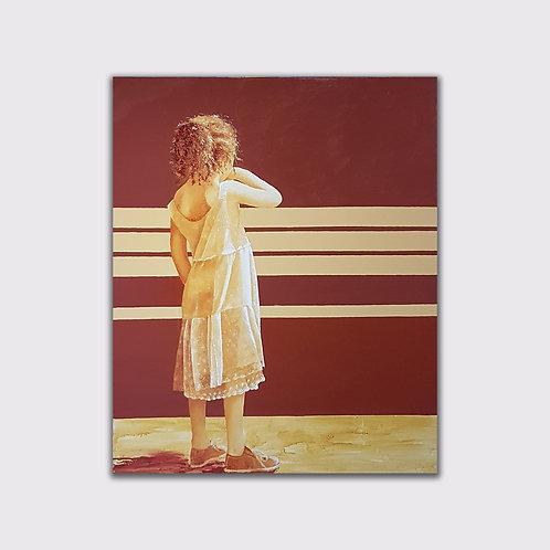 Panchina 2, 100 x 80 cm, acrylique sur toile, 2018