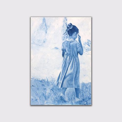 Matinale, 92 x 65, acrylique sur toile, 2017