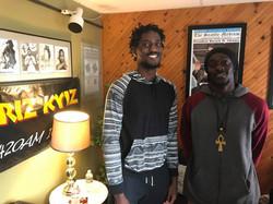 BLACK ARTS LOVE RADIO SHOW Aired on 9/23/17 on KYIZ 1620AM (Seattle, WA), Axel and Lucien Lekea Arti