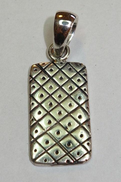 Silver Shield Pendant