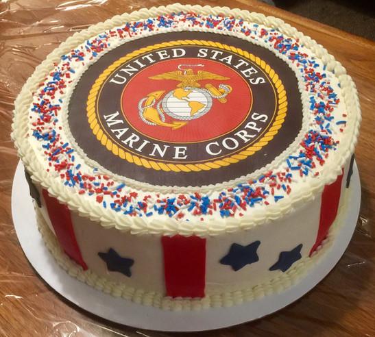 Marine retirement Party