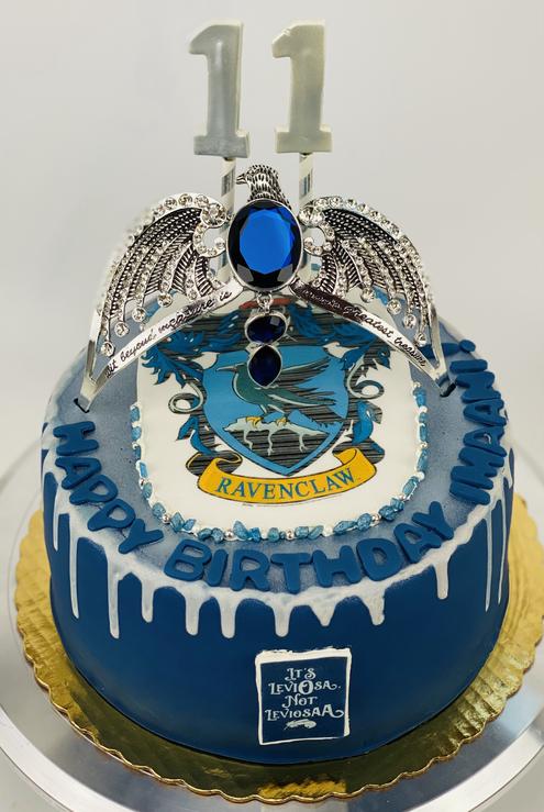 Harry Potter Ravensclaw Horcrux cake