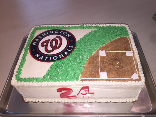 Nationals Fan Cake