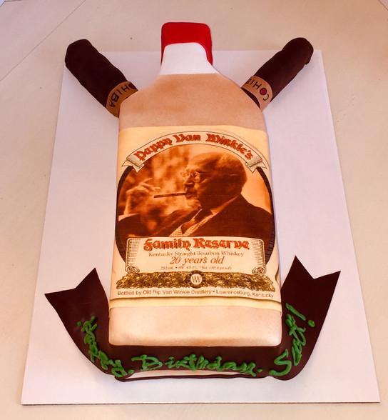 Pappy Van Winkle Cake!