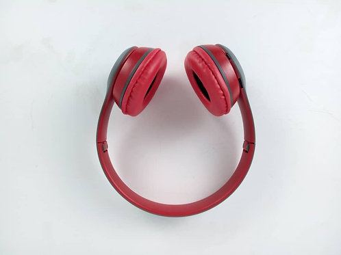 Red Bluetooth Head Phone
