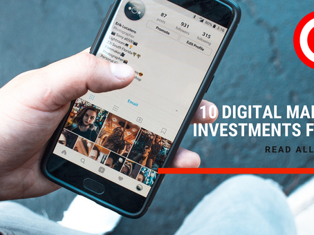 10 Digital Marketing Areas to invest in 2020, Read Carefully