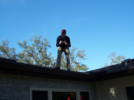 Inspecting the roof, DC Home Inspections | Citrus, Marion, & Hernando County