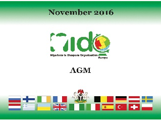 12 November 2016 NIDOE Annual General Meeting in Greece. Click and have a look.