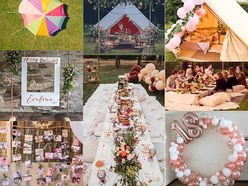 Festival Inspired Party