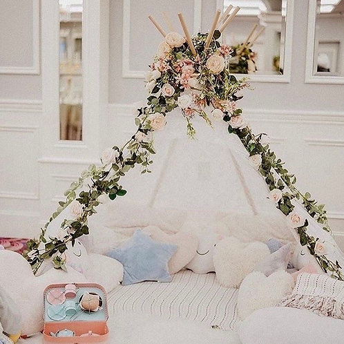 The Wedding Teepee and Soft Play