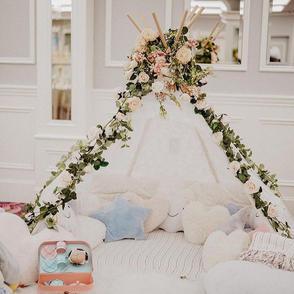 Luxury Wedding Teepee Corner