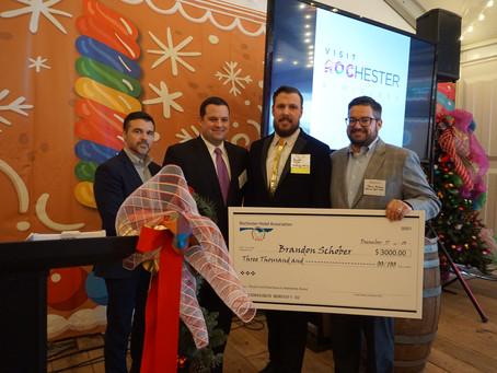 ROCHESTER HOTEL ASSOCIATION AWARDS STUDENT SCHOLARSHIPS