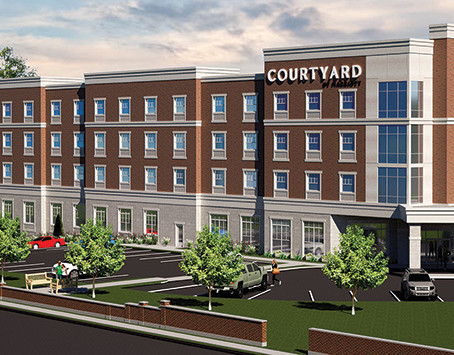NYRJE - Courtyard Marriott Downtown Rochester Nears Completion