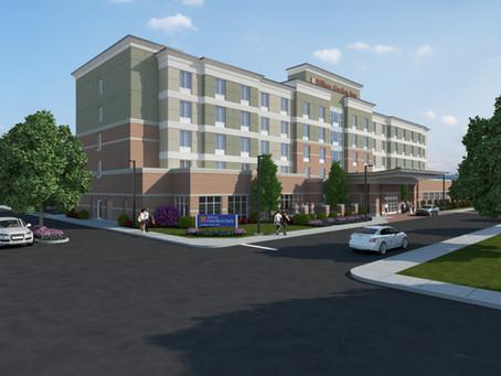 Construction Continues on the Hilton Garden Inn Corning