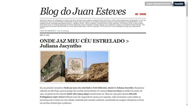 2020 Blog do Juan Esteves.